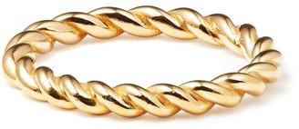 Coco Mango Jewellery 18K Gold Rope Ring