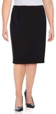 Calvin Klein Plus Pencil Skirt