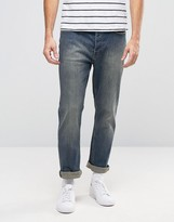 Cheap Monday Work Straight Jeans Sign Blue