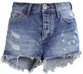 One Teaspoon LUCKY BONITA Denim shorts blue