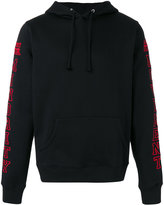 Hood by Air MM hoodie - men - Cotton/Polyester - L
