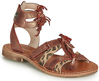 Catimini CABRI girls's Sandals in Brown