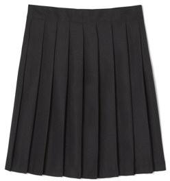 French Toast Girls School Uniform Adjustable Waist Mid Length Pleated Skirt, Sizes 10.5-20.5