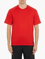 Nike Red Cotton Logo T-Shirt