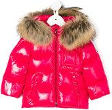 Moncler K2 puffer jacket - kids - Polyamide/Racoon Fur - 9-12 mth