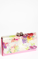 Ted Baker 'Treasured Orchid Crystal Bobble' Matinee Wallet