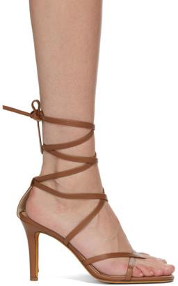 Maryam Nassir Zadeh Brown Cumbria Heeled Sandals