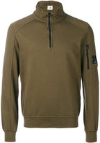 C.P. Company zipped neck sweatshirt