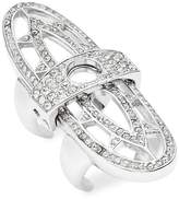 CC Skye Women's Renaissance Crystal Studded Ring