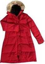 Canada Goose Red Coat for Women