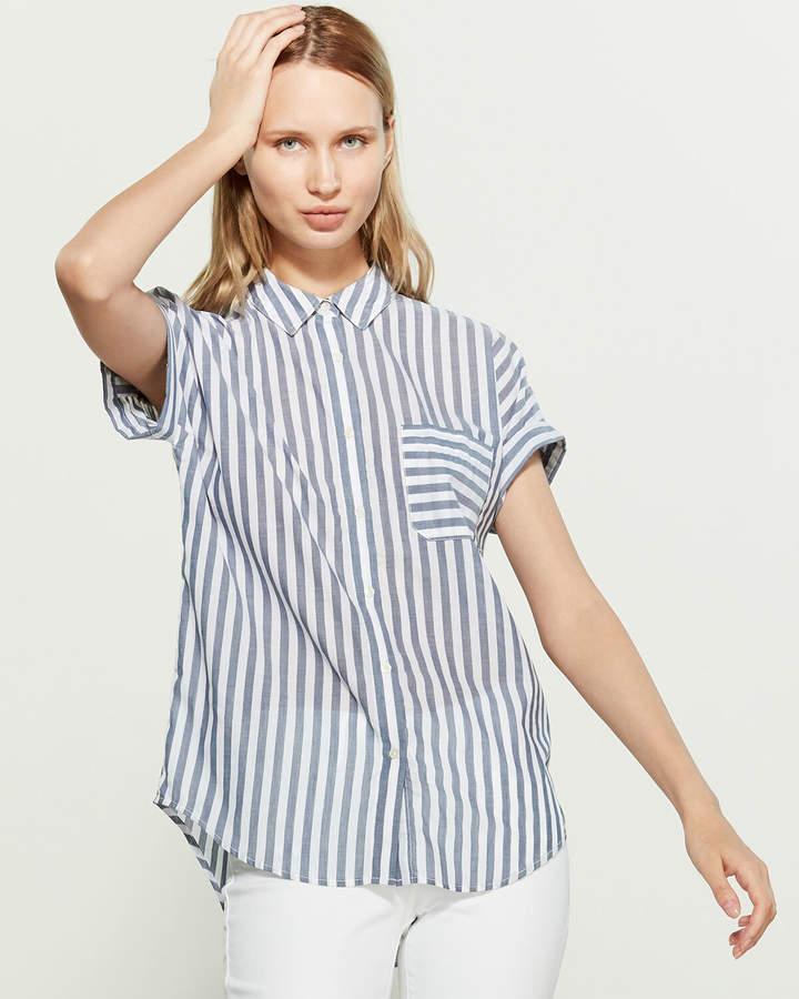 Calvin Klein Jeans California Stripe Short Sleeve Shirt