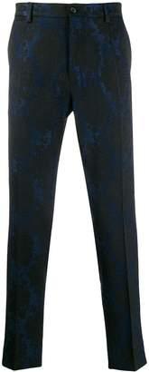 Dolce & Gabbana brocade print trousers