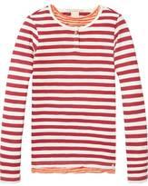 Scotch & Soda Two-In-One Striped T-Shirt