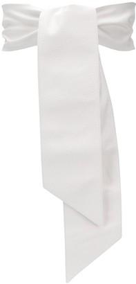 Orciani Embossed Tie Belt