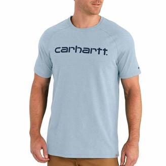 Carhartt Men's Size Force Cotton Delmont Graphic Short Sleeve T Shirt