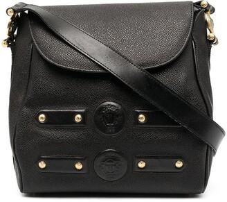 Versace Pre-Owned 1990s Stud-Embellished Shoulder Bag