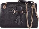 Gucci Women's GG Guccissima Leather Emily Crossbody Handbag