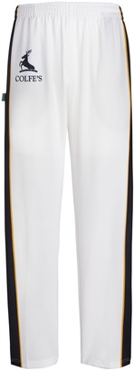 AG Jeans Unbranded Colfe's School Unisex Cricket Trousers, White/Multi