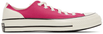 Converse Pink Psychedelic Hoops Chuck 70 OX Sneakers