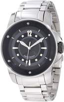 Gattinoni Men's Draco Stainless Steel Luminous Watch W0195JSSBLK