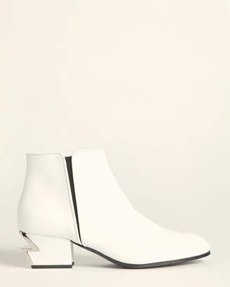 Giuseppe Zanotti Thunder Leather Ankle Booties
