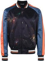 Valentino fireworks bomber jacket - men - Cotton/Polyester/Spandex/Elastane/Polyester Taffeta - 48
