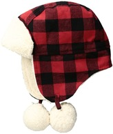Mud Pie Buffalo Check Hat (Infant)