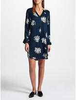 Samsoe & Samsoe Hamill Printed Dress, Florasion Blue