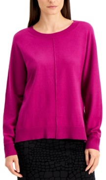 Alfani Seam-Front Sweater, Created for Macy's
