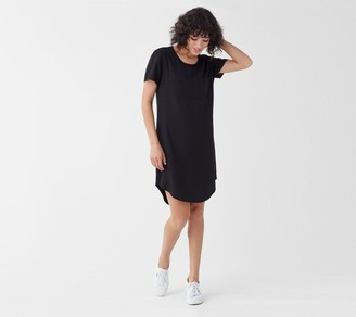 Splendid Short-Sleeve Pocket Dress