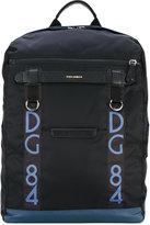 Dolce & Gabbana Mediterraneo backpack - men - Leather/Nylon - One Size