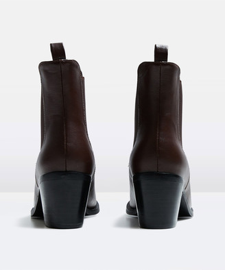 Alice In The Eve The Alexa Ankle Boot Brown