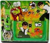 Ben 10 Wallet and watch combo boy birthday present gift tv cartoons kids by