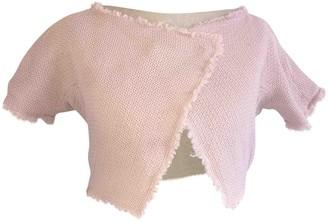 Fabiana Filippi Pink Cotton Top for Women