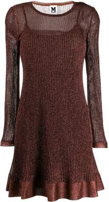M Missoni metallic ribbed dress