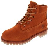 Timberland 6 Inch TPU Outsole Waterproof Suede Premium Big Kid's Boots tb0a1bks (7 M US)
