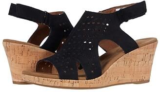 Rockport Briah Hood Sling (Black) Women's Sandals