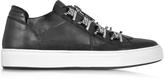 DSQUARED2 Asylum Black Leather Men's Sneaker