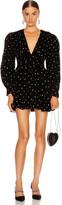 Dodo Bar Or Malenia All Over Crystal Dress in Black   FWRD