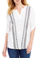 Westbound Roll-Tab Sleeve Tunic