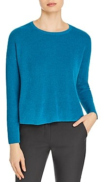 Eileen Fisher Boxy Organic Linen Blend Sweater