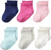 Carter's Baby-Girls Newborn Pointelle Socks