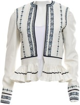 Talitha Collection White Jacket for Women