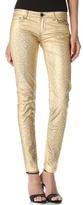Faith Connexion Metallic Coated Skinny Jeans
