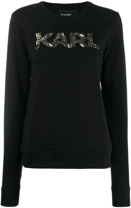 Karl Lagerfeld Paris Oui sweatshirt