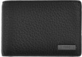 HUGO Element 6 Leather Wallet Black