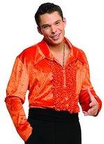 Rubie's Costume Co Men (Jacket Equivalent Up to 42) Velvet Disco Shirt in
