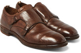 Officine Creative Princeton Leather Monk-Strap Shoes