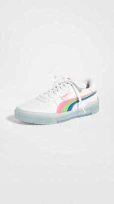 Puma Cali Neon Iced Sneakers