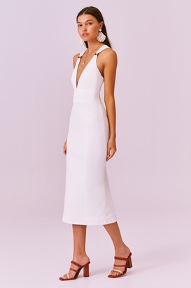 Finders Keepers EFFY DRESS ivory